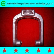 high qualit galvanized standard D bracket with bolt and nuts