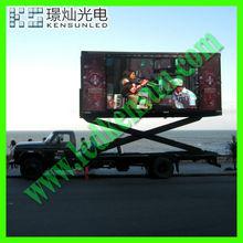 good price P10 full color high precision DIP truck led display