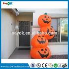 2014 outdoor inflatable pumpkin balloon, inflatable pumpkin for halloween