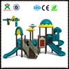Hotsale unique children plastic outdoor playset commercial outdoor playground playsets cheap outdoor playsets for kids QX-054A