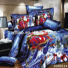 Hot selling teenage duvet sets/christmas bedding sets/3d duvet set