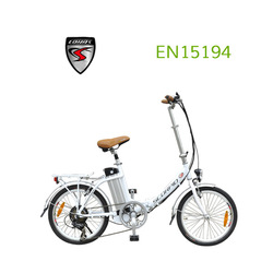 New electric bike with handle carry