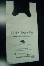 T-shirt plastic bag (Biodegradable available)