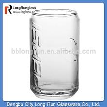 LongRun brand new design Pepsi glass cup round bottom glassware with high quality