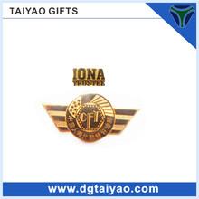 2014 Newest design Metal material hot sales Airline pilot badge