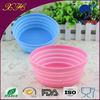 Silicone rubber pet feeder bowl