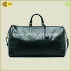 Fashion leather weekend duffel&sport bag