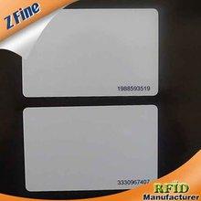 Blank Plastic Em4100 125kHz RFID Proximity Thin Access Control Card