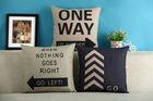 Fashion Christmas Decorative Throw Pillow Cushion Cover Case Linen Cotton Cushion For Sofa