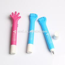 new fashion design Fist shape for promotion gift plastic ballpoint pen