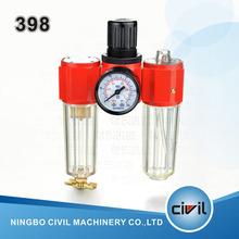 39 series pneumatic air filter regulator lubricator combination 398 air combination