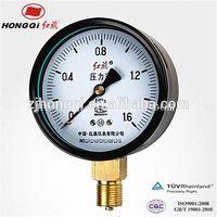 air compressor pressure gauge single tube manometer steam boiler pressure gauge