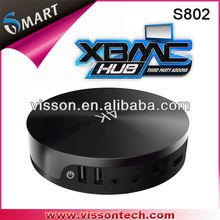 Vissontech S802 newest amlogic 4Kfull hd media player recorder