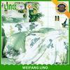 Hot selling european style bedding set/luxury european bedding set/plain white 100% cotton bed sheet
