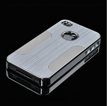 Brushed Blade Aluminum Case For iphone 5 5S/4 4S