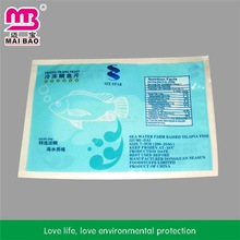 Advanced equipment made clear fish packaging bags