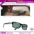 2014 china preta de alta qualidade e leopardo polarizada lente dos óculos tom cruise mesmo modelo