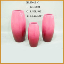 pink color ceramic flower vase terracotta plant pots flower pots wholesale