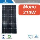 Hot sale 210W solar panel monocrystalline silicon with buy solar cells bulk for Mexico market