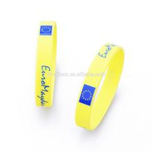 hot popular silicone China bracelet market wholesale gift