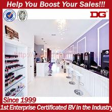 Customized design produce modern nail salon furniture nail shop