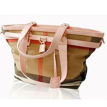 GL414 new 2014 china manufacturer fashion leather canvas handbags