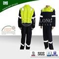 electricista industrial ropa de trabajo profesional de la fabricación de tejido a prueba de fuego uniforme