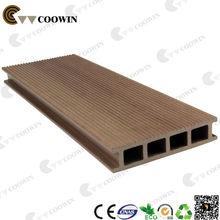 China popular hollow dark teak flooring