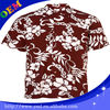 cheap custom printed hawaiian shirt for men, polyester flower dashiki shirts wholesale