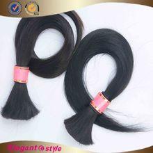 Large stock 6a virgin chinese hair bulk wholesale