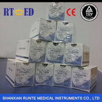 Medical Products Disposable Sterile PGA/PGLA/PDO Suture With Needle