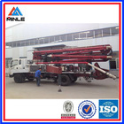 used concrete boom pump car for sale