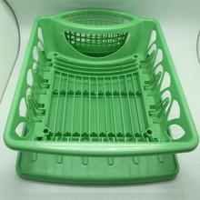 cocina de plástico bowl de la placa y estante de la cocina estante para platos