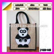 2015 the trendy jute shopping bag