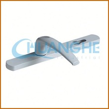 made in china silver oxidated bedroom square t bar handle