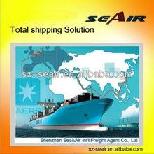 Sea transportation from China to PAKISTAN---SEA&AIR