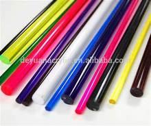 Factory direct sell acrylic plexiglass rod, acrylic glass rod, black acrylic rod