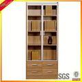 golden teak madeira pequena estante moderna tall estante