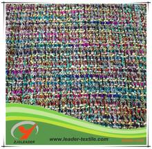 Beautiful wool acrylic cotton fabric