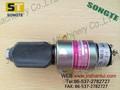 Pc350-7 parar de komatsu bomba de combustível solenóide 3930234