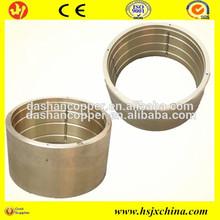 Steel backing sinter bronze powder copper alloy bimetal bushing