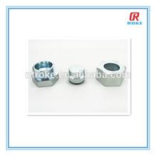 NPT threaded stainless steel hex head pipe plug