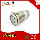 FILN (FLM16S-F11Z-E) 16mm flat momentary switch pushbutton on off