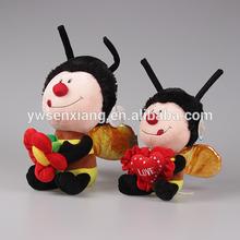 Super Soft Little Bee Plush Stuffed Toys Cute Bee Plush Toy