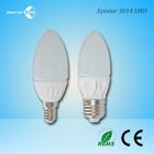 3W E14 Lampade Ceramic LED Candle Lighting