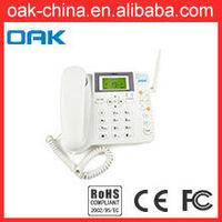 SMS Function Wireless GSM Alarm With Smoke Alarm, Smart