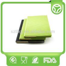 Customized design flexible silicone book cover