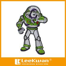 Nuevo diseño de coser - bordado Buzz Lightyear del Applique del remiendo para prendas de vestir para niños