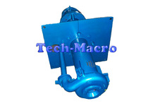 Vertical sump mining process water slurry pump for electric power