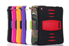 PC + Silicone Combo Case for iPad Air with Kickstand